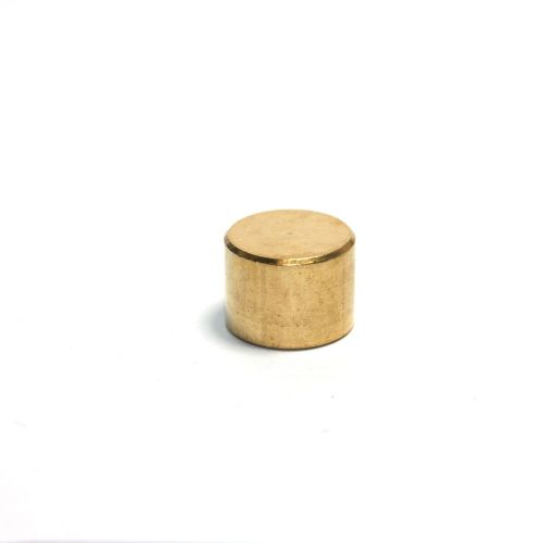 M10 x 1mm Pitch  Solid Brass Finial End Cap Nut